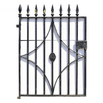19th Century Wrought Iron Gate