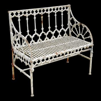 A Val d'Osne Cast Iron Seat