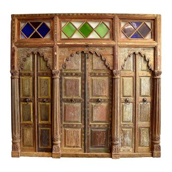Antique Indian Screen