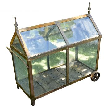 Glass and Metal Cold Frame